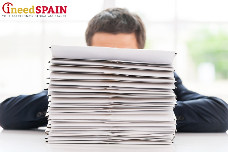 applying for a work visa for Spain